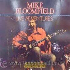 Discos de vinilo: MIKE BLOOMFIELD - LP. LIVE ADVENTURES - ORIGINAL. Lote 39769971