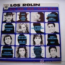 Discos de vinilo: LOS ROLIN POR RUMBAS LP SONY SPAIN 1991 M M COL 469339 1. Lote 295852918