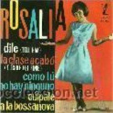 Discos de vinilo: ROSALIA EP SELLO ZAFIRO AÑO 1965. Lote 39772276