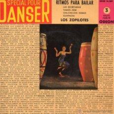 Discos de vinilo: ZOPILOTES, EP, LAS SECRETARIAS + 3, AÑO 1960. Lote 39772488