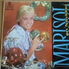 Discos de vinilo: MARISOL EN NAVIDAD EP 1960 COLOREADO. Lote 39776064