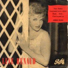 Discos de vinilo: LINE RENAUD, EP, TOM DOOLEY + 3, AÑO 1959. Lote 39776812