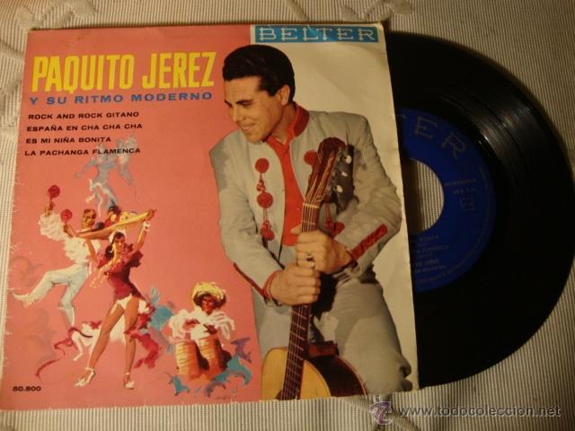 RARO DISCO SINGLE ORIGINAL EP (Música - Discos de Vinilo - EPs - Solistas Españoles de los 50 y 60)
