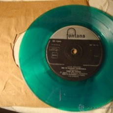 Discos de vinilo: ANTIGUO Y RARO DISCO SINGLE VERDE ORIGINAL EP AÑOS 50/60 LOS 5 LATINOS. Lote 39782326