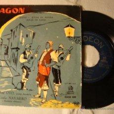 Discos de vinilo: ANTIGUO DISCO SINGLE ORIGINAL EP AÑOS 50/60 JOTAS. Lote 39782440