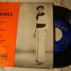 Discos de vinilo: ANTIGUO DISCO SINGLE ORIGINAL EP AÑOS 50/60 JOTAS RAIMUNDO LANAS. Lote 39782478