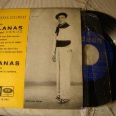 Discos de vinilo: ANTIGUO DISCO SINGLE ORIGINAL EP AÑOS 50/60 JOTAS RAIMUNDO LANAS. Lote 39782494
