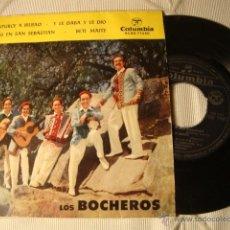 Discos de vinilo: ANTIGUO DISCO SINGLE ORIGINAL EP AÑOS 50/60 JOTAS. Lote 39782592
