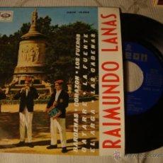 Discos de vinilo: ANTIGUO DISCO SINGLE ORIGINAL EP AÑOS 50/60 JOTAS RAIMUNDO LANAS. Lote 39782601
