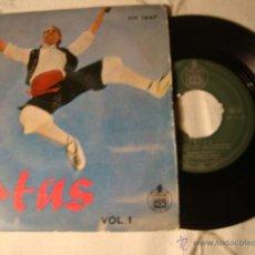 Discos de vinilo: ANTIGUO DISCO SINGLE ORIGINAL EP AÑOS 50/60 JOTAS . Lote 39782613