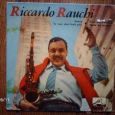 Discos de vinilo: RICCARDO RAUCHI Y SU CONJUNTO - Nº 4 - VENUS + 3. Lote 39799290