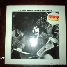 Discos de vinilo: CASTELHEMIS - ARMES INEGALES . Lote 39806908