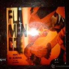 Discos de vinilo: PEPE DE ALMERÍA ET SON ENSEMBLE ( RAFAEL ROMERO Y JOSE VARGAS AL CANTO ) -FLAMENCO - . Lote 39807125
