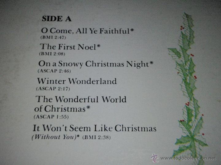 Discos de vinilo: ELVIS PRESLEY ( ELVIS sings 'THE WONDERFUL WORLD OF CHRISTMAS ) LP33 USA-1971 RCA AN L1-1936 - Foto 3 - 23385911