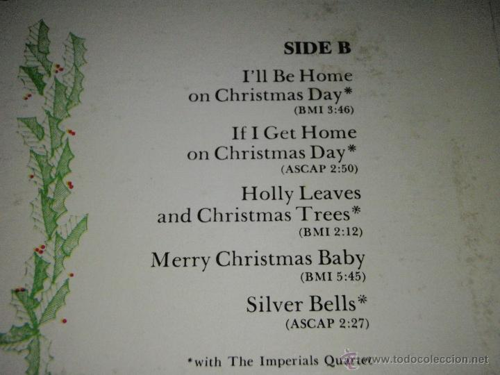 Discos de vinilo: ELVIS PRESLEY ( ELVIS sings 'THE WONDERFUL WORLD OF CHRISTMAS ) LP33 USA-1971 RCA AN L1-1936 - Foto 4 - 23385911
