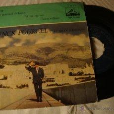 Discos de vinilo: ANTIGUO DISCO SINGLE ORIGINAL EP AÑOS 50/60 FRANCK POURCEL. Lote 39785503