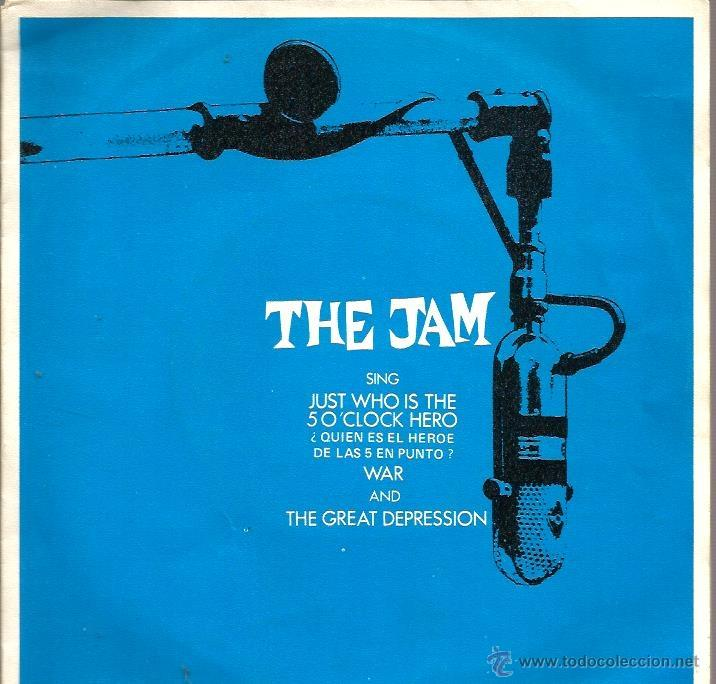 EP THE JAM ( PAUL WELLER ) : JUST WHO IS THE SO CLOCK HERO + 2 (Música - Discos de Vinilo - EPs - Pop - Rock - New Wave Extranjero de los 80)