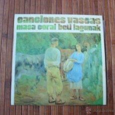 Discos de vinilo: CANCIONES VASCAS MASA CORAL BETI LAGUNAK EP 1974. Lote 39788564