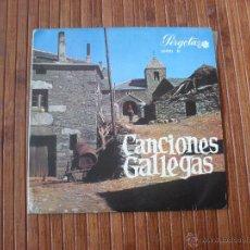Discos de vinilo: CANCIONES GALLEGAS EP 1967. Lote 39788699