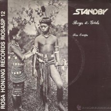 Discos de vinilo: SG STANDBY : BOYS & GIRLS. Lote 39788800