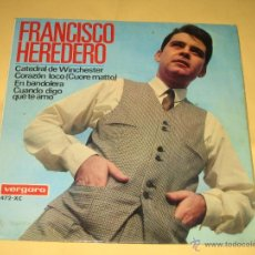 Discos de vinilo: FRANCISCO HEREDERO - 1967. Lote 39993570
