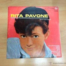 Discos de vinilo: LP RITA PAVONE INTERNACIONAL EDITADO EN ESPAÑA RCA 1965. Lote 210824280