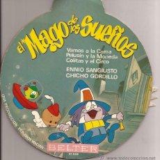 Discos de vinilo: EP-EL MAGO DE LOS SUEÑOS BELTER 51608-1966-ENNIO SANGIUSTO CHICHO GORDILLO. Lote 39802347