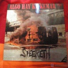 Discos de vinilo: SPEERETH ALGO HAY QUE QUEMAR PUNK HARDCORE LP. Lote 68090053