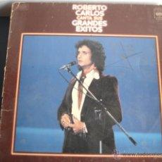 Discos de vinilo: ROBERTO CARLOS CANTA SUS GRANDES EXITOS. Lote 39802894