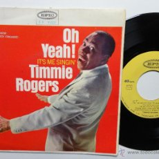 Discos de vinilo: TIMMIE ROGERS- YOU BETTER GO NOW +3. SPANISH EP 1965.SUPER SOUL. ULTRA RARE.. Lote 39805493