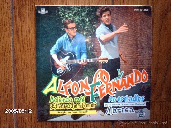 ALFONSO Y FERNANDO - MOLIENDO CAFE + 3 (Música - Discos de Vinilo - EPs - Grupos Españoles 50 y 60)