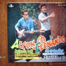 Discos de vinilo: ALFONSO Y FERNANDO - MOLIENDO CAFE + 3. Lote 39843075