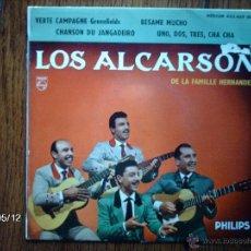 Discos de vinilo: LOS ALCARSON DE LA FAMILLE HERNANDEZ - VERTE CAMPAGNE + 3. Lote 39843283