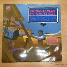 Discos de vinilo: LP HER ALPERT Y SU TIJUANA BRASS EDITADO EN ESPAÑA 1966. Lote 39806492
