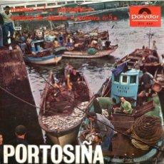Discos de vinilo: EP PORTOSIÑA ( GALICIA FOLK ) ; CORO CANTIGAS DA TERRA + EMILIO CORRAL . Lote 39823027