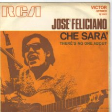 Discos de vinilo: JOSE FELICIANO SINGLE SELLO VICTOR . Lote 39828885