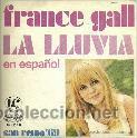 FRANCE GALL SINGLE SELLO MOVIEPLAY AÑO 1969 (Música - Discos - Singles Vinilo - Canción Francesa e Italiana)