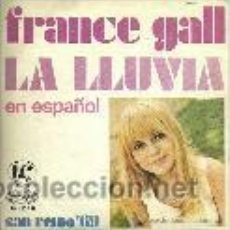 Discos de vinilo: FRANCE GALL SINGLE SELLO MOVIEPLAY AÑO 1969. Lote 39831223