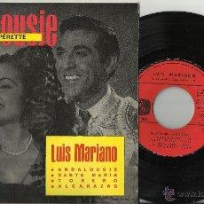 Discos de vinilo: LUIS MARIANO EP ANDALOUSIE FRANCIA. Lote 39831514