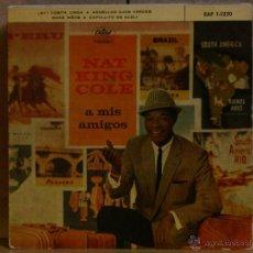 Discos de vinilo: NAT KING COLE - A MIS AMIGOS - CAPITOL EAP 1-1220 - 1959. Lote 39831814