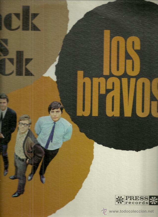 LOS BRAVOS LP SELLO PRESS RECORDS EDITADO EN USA. (Música - Discos - LP Vinilo - Grupos Españoles 50 y 60)