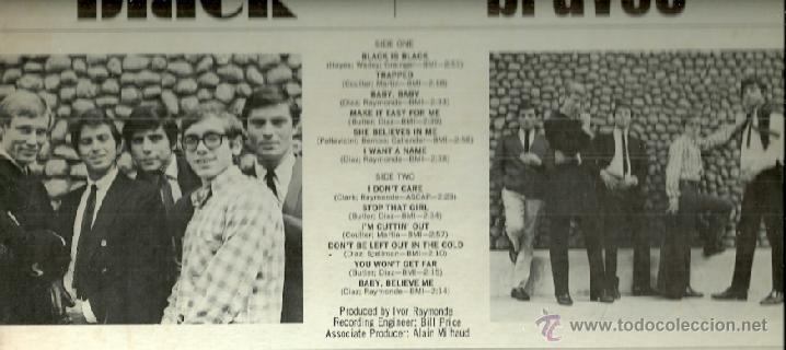 Discos de vinilo: LOS BRAVOS LP SELLO PRESS RECORDS EDITADO EN USA. - Foto 2 - 39832391