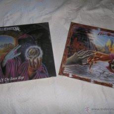 Discos de vinilo: HELLOWEEN ?KEEPER OF THE SEVEN KEYS 1 & 2 4 LP COLOR...IRON MAIDEN MANOWAR JUDAS PRIEST METALLICA. Lote 39835360