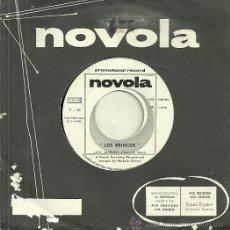 Discos de vinilo: LOS BRINCOS SINGLE SELLO NOVOLA AÑO 1969 (PROMOCIONAL SOLO UNA CARA). Lote 39840810