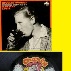 Discos de vinilo: JERRY LEE LEWIS / NUGGETS VOL 2 / 16 RARE TRACKS.. ROCKABILLY !! RARO LP ORG EDT UK 1956-63 !! EXC. Lote 39840812