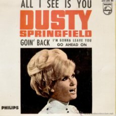 Discos de vinilo: DUSTY SPRINGFIELD - ALL I SEE IS YOU + 3 EP SPAIN 1966 VG++ / VG++. Lote 39841905