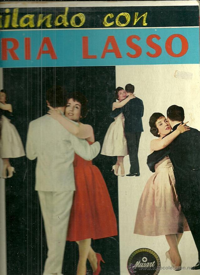 GLORIA LASSO LP SELLO MUSART EDITADO EN MEXICO (Música - Discos - LP Vinilo - Solistas Españoles de los 50 y 60)