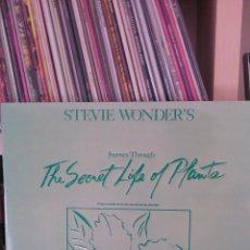 Discos de vinilo: STEVIE WONDER'S - THE SECRET LIFE OF PLANTS. Lote 39851038