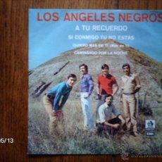 Discos de vinilo: LOS ANGELES NEGROS - A TU RECUERDO + 3. Lote 39871439