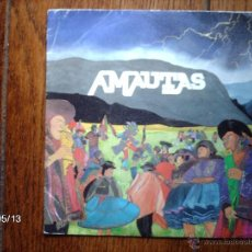 Discos de vinilo: AMAUTAS - CHUNTUNQUINA + 3. Lote 39874551